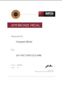 2019 Medal Certificates Gumpara Wines 3